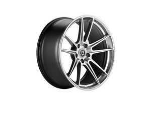 """ES#3478435 - 04h009535013hKT1 - 20"""" FF04 Style Wheels - Set Of Four - 20""""x9.5"""", ET35, 5x112 - Liquid metal finish - HRE - Audi"""