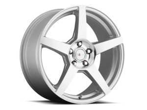 "ES#3505062 - m775400140smfkt1 - 17"" MGA - Set Of Four - 17x7.5 ET40 4x100/4x114.3 - Silver/Machined Face - Voxx wheels - MINI"
