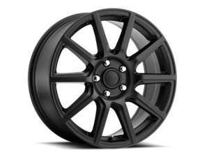 "ES#3505630 - me565400140mtkt1 - 15"" Mille - Set Of Four - 15x6.5 ET40 4x100/4x114.3 - Matte Black - Voxx wheels - MINI"