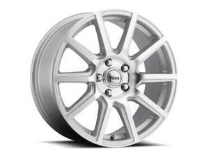 "ES#3505084 - me565400140smkt1 - 15"" Mille - Set Of Four - 15x6.5 ET40 4x100/4x114.3 - Silver/Machined Face - Voxx wheels - MINI"