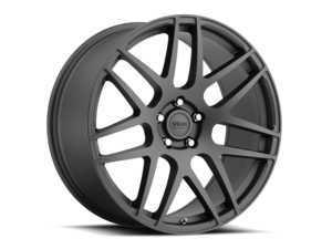 """ES#3478555 - lg895511235dtKT - 18"""" Leggero - Set Of Four - 18x9.5 ET35 5x112 - Matte Dark Titanium - Voxx wheels - Audi Volkswagen"""