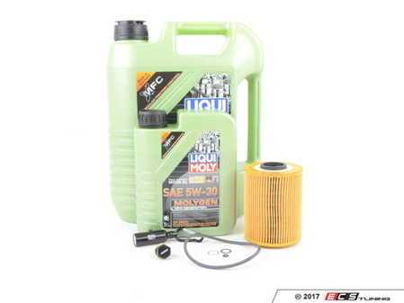 ES#3470577 - E36OCIMmgKT - Liqui Moly MolyGen Oil Change Kit / Inspection I - Next generation Liqui Moly synthetic oil with up to 15% lower coefficient of friction. Glows green under UV light for easy tracing of leaks! Includes Hengst Filter - Assembled By ECS - BMW
