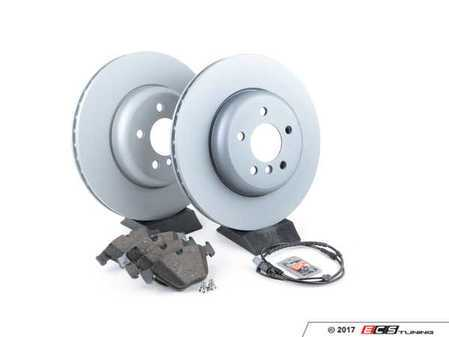 ES#3478033 - 34116775277rpsKT - Front Brake Service Kit - Featuring Zimmermann rotors with Pagid pads - Assembled By ECS - BMW