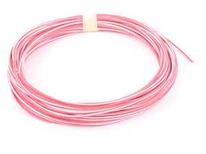 ES#162970 - 61126940164 - Cable Red White - Priced Each  - Sold in 1 meter increments - Genuine BMW - BMW