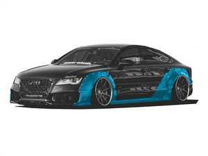ES#3478685 - WBA7wd - A7/S7/RS7 Widebody Kit - Adds 6.5cm per side up front and 9cm per side out back - Clinched - Audi