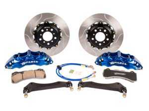 ES#3491031 - SPT.M1.3126 - Triton Big Brake Kit - Rear - Featuring Spartan Evolution's massive Triton 4-Piston forged calipers and high quality 2-Piece rotors for the best braking performance possible, both on and off of the track! - Sparta Evolution - BMW