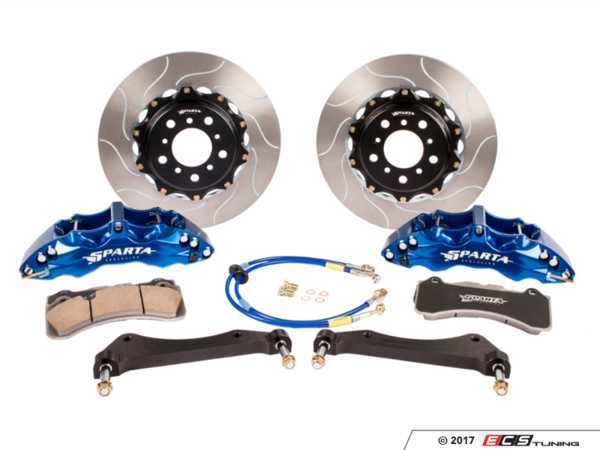ES#3490900 - SPT.M1.3199 - Triton Big Brake Kit - Front - Featuring Spartan Evolution's massive Triton 6-Piston forged calipers and high quality 2-Piece rotors for the best braking performance possible, both on and off of the track! - Sparta Evolution - BMW