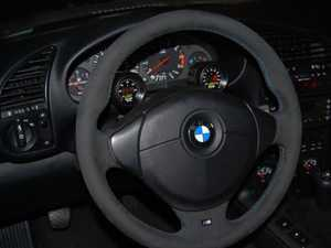 ES#3490705 - RRSMGP - E36 Steering Column Mounted Gauge Pod - Keep the important information directly in front of you. - Rally Road - BMW