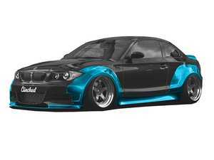 ES#3478658 - BMW-E82wdl - E82 Widebody Kit - Without Ducktail and Front Lip - Adds 7cm per side up front and 8cm per side out back - Clinched - BMW