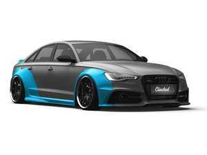 ES#3490737 - WBA6-C7 - C7 A6/S6 Widebody Kit - Without Ducktail - Adds 6.5cm per side up front and 9cm per side out back - Clinched - Audi