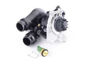 ES#3236064 - 77021089 - Water Pump Module - Includes the thermostat and gasket - Gates - Audi Volkswagen
