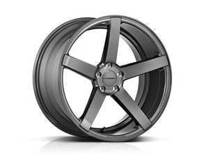 "ES#3490966 - cv3r-9m33aKT - 19"" CV3-R - Set Of Four - 19x8.5 ET40 5x112 - Gloss Graphite - Vossen - Audi MINI"
