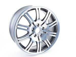 "ES#3490911 - 36112229650SD - 19"" M Double Spoke Style 67 Wheel - Priced Each *Scratch And Dent* - 19x8 ET47 72.6 CB - Genuine BMW - BMW"