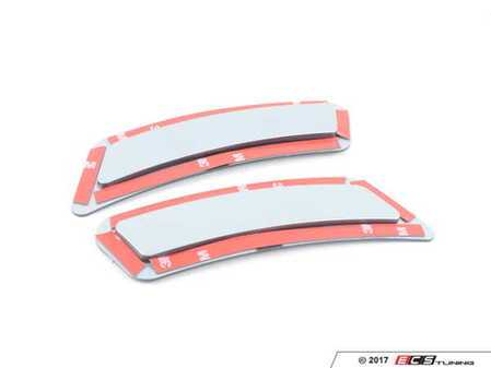 ES#3420896 - BM-0993-A29 - Painted Front Bumper Reflectors - Silver Stone II - Clean up your M front bumper with paint matched reflectors - AUTOTECKNIC - BMW