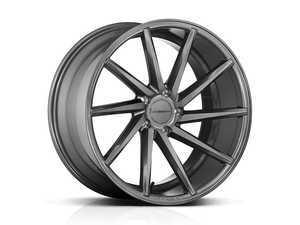 """ES#3491009 - cvt-0m10sKT - 20"""" CVT - Set Of Four - 20x9 ET45 / 20x10.5 ET42 5x112 - Gloss Graphite - Vossen - Audi Volkswagen"""