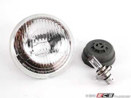 ES#7769 - un6207145 - Hella H4 European Headlight (5 3/4) - Priced Each - Replace your US spec headlights with these much improved European spec H4 bulb headlights. - Hella - BMW Volkswagen