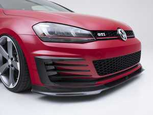 ES#3478098 - 021401ECS01 - Carbon Fiber Front Bumper Grille Flare Set - Hand-laid carbon fiber to upgrade your exterior styling - ECS - Volkswagen