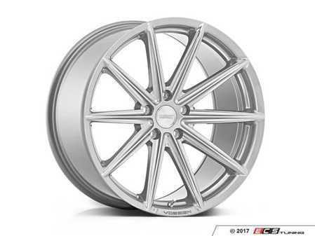 """ES#3491529 - vfs10-0m11KT - 20"""" VFS-10 - Set of Four - 20x10.5 ET30 5x112 - Silver Metallic - Vossen - Audi Volkswagen"""