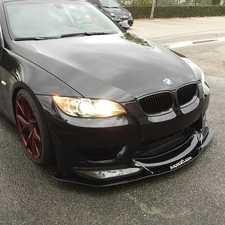 ES#3490691 - S-BAB-V1 - E92/93 Amuse Splitter V1 - An add-on splitter designed specifically for the Amuse Ericsson style front Bumper. - Aeroflow Dynamics - BMW