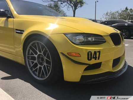 ES#3490689 - C-E90-E93-V1 - E90/92/93 M3 Canards V1 - Add race styling to your front bumper! - Aeroflow Dynamics - BMW