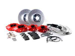 ES#3251021 - 34112450468 - BMW Performance Brake Kit - Red - Retrofit big brake kit direct from BMW - Genuine BMW M Performance - BMW