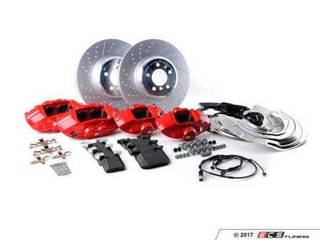 ES#3251021 - 34112450468 - BMW Performance Brake Kit - Red - Retrofit big brake kit direct from BMW - Genuine BMW M Performance - BMW