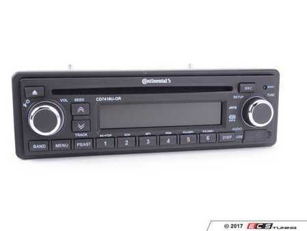 ES#3427249 - CD7416U-OR - VDO Head Unit - USB, Aux Input, & CD - New radio head unit with modern features with a classic OE look (with orange backlight) that won't look out of place! - VDO - BMW MINI Porsche
