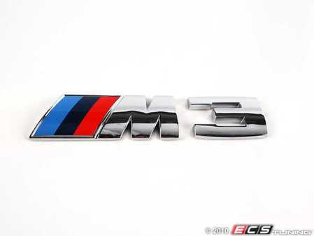 ES#79377 - 51148041901 - M3 Emblem - M3 emblem/badge from the e9x M3 - Genuine BMW - BMW