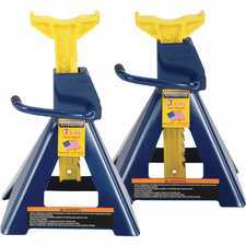 ES#2941853 - HWAHW93503 - 3-Ton Jack Stands - Pair - Heavy Duty and made in the USA - Hein-Werner Automotive - Audi BMW Volkswagen Mercedes Benz MINI Porsche
