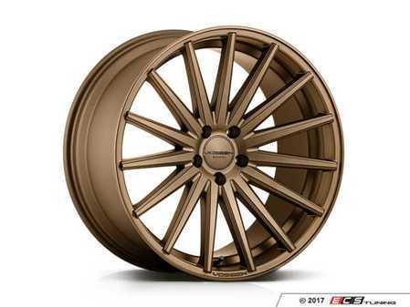 """ES#3491701 - vfs2-0m03s2KT - 20"""" VFS-2 - Set Of Four - 20x8.5 ET44 / 20x10 ET55 5x112 - Satin Bronze - Vossen - Audi Volkswagen"""
