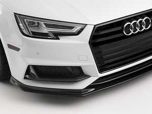 ES#3420312 - 024315ECS01 - Carbon Fiber Fog Grille Overlay Set  - Hide your chrome with hand-laid carbon fiber - ECS - Audi