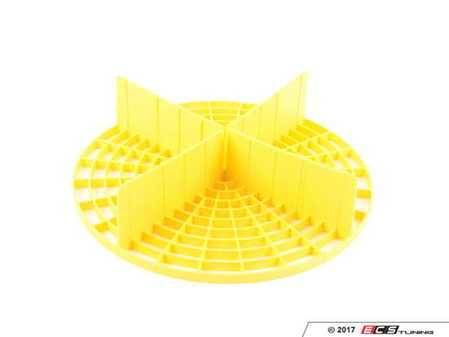 ES#3450566 - IAI503YELLOW - Yellow Grit Guard Insert - (NO LONGER AVAILABLE) - The Grit Guard Insert helps prevent swirls and scratches commonly caused when washing any vehicle - Chemical Guys -