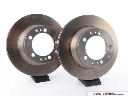 "ES#2593442 - 95135204102KT3 - Rear Brake Rotors - Pair 11.77"" (299mm) - Rear axle fitment - Both left and right - ATE - Porsche"