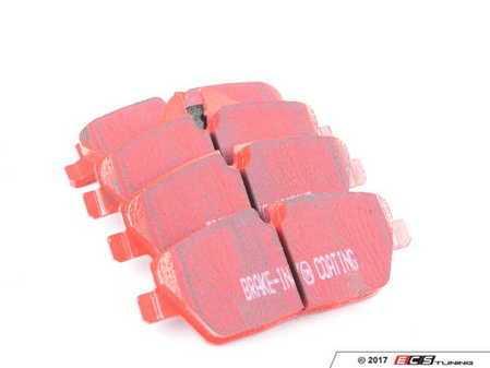 ES#520380 - DP31578C - EBC Redstuff Ceramic Pad - BMW Euro - Front - EBC -