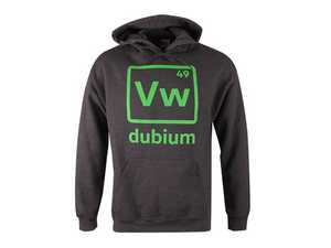 ES#3011318 - DRG012174GRYSM - Dubium Hooded Sweatshirt - Small - One of the most important elements of a Volkswagen: Dubium - Genuine Volkswagen Audi - Volkswagen