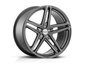 """ES#3492728 - vfs5-0m06KT - 20"""" VFS-5 - Set Of Four - 20x9 ET32 5x112 - Gloss Graphite - Vossen - Audi Volkswagen"""