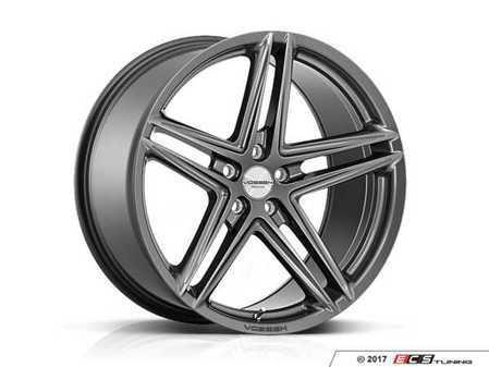 "ES#3492730 - vfs5-0m06s2KT - 20"" VFS-5 - Set Of Four - 20x9 ET32 / 20x10.5 ET30 5x112 - Gloss Graphite - Vossen - Audi Volkswagen"