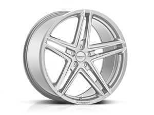 """ES#3492725 - vfs5-0m05s1KT - 20"""" VFS-5 - Set Of Four - 20x9 ET32 / 20x10 ET50 5x112 - Silver Metallic - Vossen - Audi Volkswagen"""