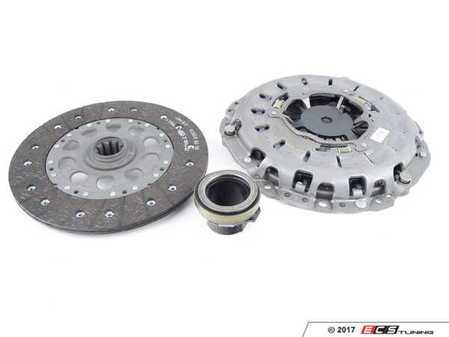 ES#41138 - 21217515146 - Clutch Kit - Remanufactured - Includes pressure plate, throwout bearing & clutch disc - Genuine BMW - BMW