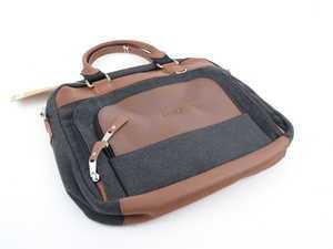 ES#3440253 - ACM5206 - Jonah Wool Briefcase - Duffel bag made for an Audi enthusiast with Audi rings logo - Genuine Volkswagen Audi - Audi