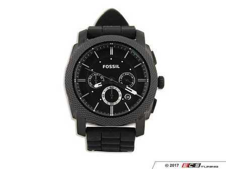 ES#2554708 - DRG017906 - Fossil Machine Watch  - Fossil's Machine Silicone watch is available to all VW fans. - Genuine Volkswagen Audi - Volkswagen