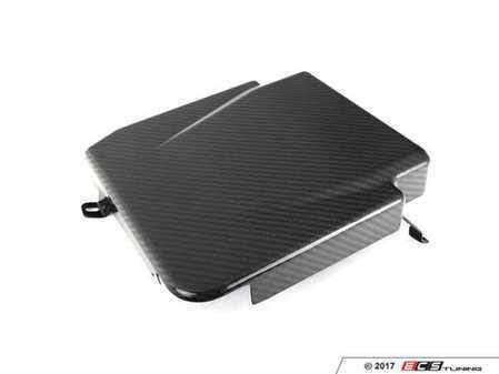 ES#3247906 - 024249ECS01 - Carbon Fiber ECU Cover  - Compliment your engine bay and hide away the exposed ECU - ECS - Audi