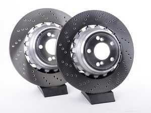ES#3491194 - 34212284904KT - Rear Brake Rotors - Pair (385x24) - New floating rear rotors from BMW - Genuine BMW - BMW