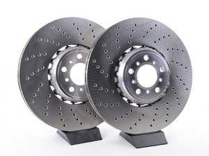 ES#3491198 - 34112284901KT - Front Brake Rotors - Pair (395x36) - New rotors from BMW to fix your brake system - Genuine BMW - BMW