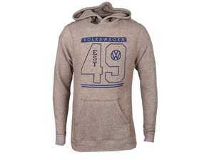 ES#3440368 - DRG002575BRN2X - French Terry Hood - Extra Extra Large - A classic hoodie with a twist. Brown. - Genuine Volkswagen Audi - Volkswagen