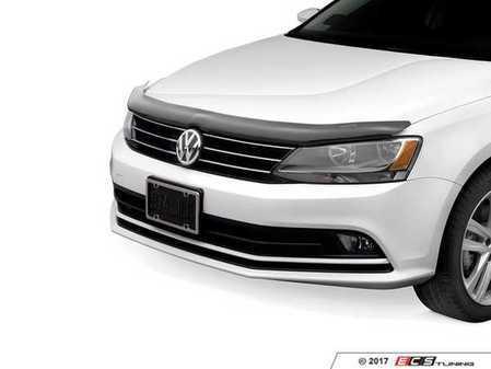 ES#3460781 - 50262 - Stone & Bug Deflector - Dark Smoke - Keep your hood and windshield bug and chip free! - WeatherTech - Volkswagen