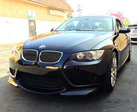 ES#3493231 - 0ECSE92AFRB - ECS Front Bumper with Carbon Splitters - Make your E92 stand out from the crowd. - ECS - BMW