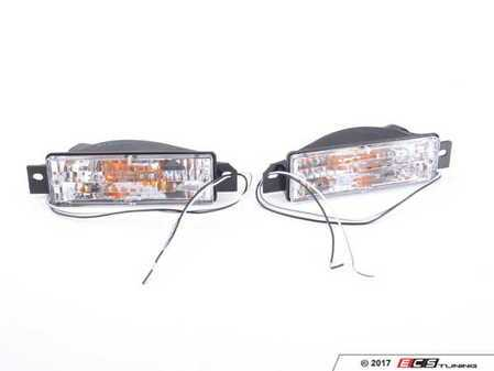 ES#3469071 - FKBL041001 - Clear Front Turn Signal Assembly - Set - Get rid of the amber plastic! - FK - BMW