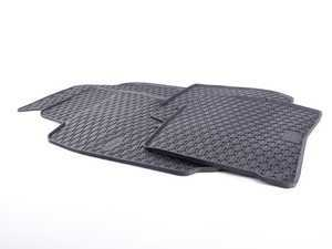 ES#3469738 - 110-053-003 - All-Weather Rubber Floor Mats - Set Of Four - Offers protection from the typical water, road salt, or tracked-in mud, to the unfortunate coffee spills and dropped snacks. - Bremmen Parts - Volkswagen