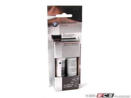 ES#3172434 - 51910419745KT - Titanium Silver Metallic Touch Up Paint Stick - 354 - Direct from BMW to ensure the proper color matching - Genuine BMW - BMW